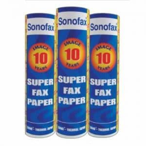 Super 10 Years Thermal Fax Paper
