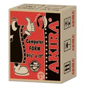 Akira Economical A4 – 1 Ply NCR Computer Form