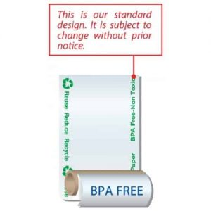 Eco Friendly BPA Free (Non Toxic) Thermal Paper Roll