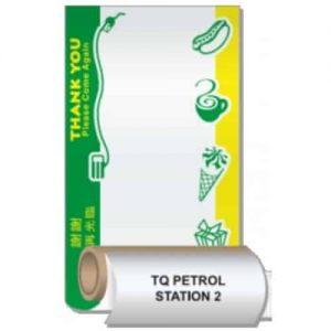 EC Thermal Pre-Printed Petrol Thermal Roll