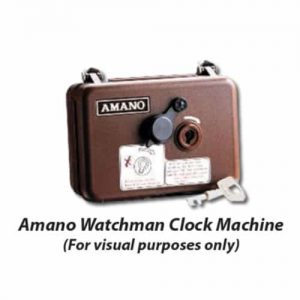 Watchman Clock Self Contain Paper Recording Tape (Blue Image)