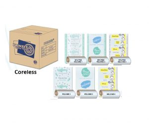 Pre-printed Prinzet Blue Coreless – Welcome